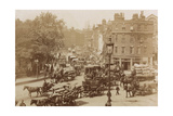 Junction of Tower Hill, Mansell Street and Tower Bridge, London, 11 June 1914 Photographic Print