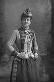 Zelie De Lussan (1861-194), American Mezzo-Soprano, 1893 Reproduction photographique par W&d Downey