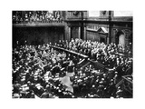 A Typical Sitting of the Reichstag, Parliament of the German Republic, 1926 Giclee Print
