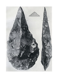 Sharp Pointed Implements, from Henley, Oxfordshire, 1926 Giclee Print