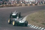 Innes Ireland Driving a Lotus 18, Dutch Grand Prix, Zandvoort, 1960 Photographic Print