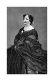 Louise Colet, French Poet, 1874 Giclee Print