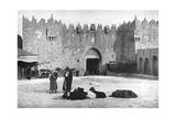 Damascus Gate, Jerusalem, Israel, 1926 Giclee Print