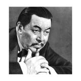 Warner Oland, Swedish Actor, 1934-1935 Giclee Print