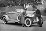 Auburn Car, C1930s Photographic Print