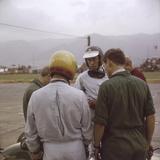 Jim Clark at the Austrian Grand Prix, Zeltweg, Austria,1964 Photographic Print