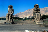 The Colossi of Memnon, Near the Valley of the Kings, Egypt, 14th Century Bc Photographic Print