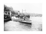 Passengers Boarding the Steamer 'Earl Godwin, London, C1905 Photographic Print