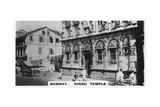 Hindu Temple, Bombay, India, C1925 Giclee Print