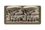 The Garden of Gethsemane and the Mount of Olives, Palestine, 1908 Giclee Print by  Underwood & Underwood