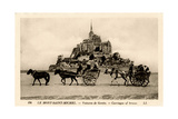 Mont-Saint-Michel, Normandy, France, Early 20th Century Giclee Print