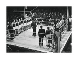 Amateur Boxing Competition Between Germany and Poland, 1936 Giclee Print