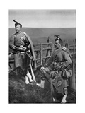 Pipe-Major Reith and Corporal-Piper Reith of the London Scottish, 1896 Giclee Print by  Gregory & Co