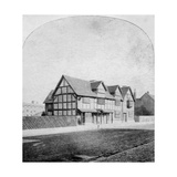 William Shakespeare's House, Henley Street, Stratford-Upon-Avon, Warwickshire, Late 19th Century Giclee Print
