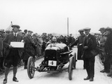 Aston Martin at a Motor Racing Event, 1922 Photographie