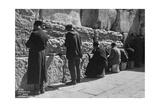 The Wailing Wall, Jerusalem, C1920S-C1930S Giclee Print