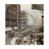 State Street, Chicago, Illinois, USA, 1908 Giclee Print