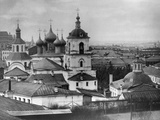 Monastery of St John Chrysostom, Moscow, Russia, 1882 Photographic Print by  Scherer Nabholz & Co