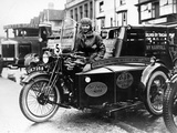 Woman Riding a 1929 500Cc Ajs Motorbike, (C1929) Photographic Print