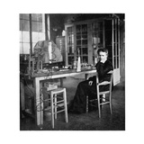 Marie Curie, Polish-Born French Physicist, C1920 Giclee Print