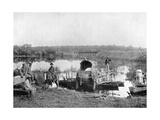 Waiting at the Ferry, Paraguay, 1911 Giclee Print