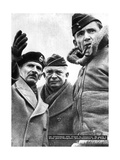 Allied Commanders in France, 1944 Giclee Print