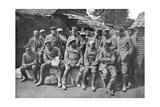 German Prisoners of War, Ypres, Belgium, 1914 Giclee Print