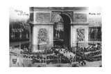 Victory Parade, Paris, 14th July 1919 Giclee Print