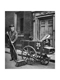Road Sweeper, London, 1926-1927 Giclee Print