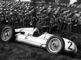 Crashed Auto Union, Donington Grand Prix, 1938 Photographic Print