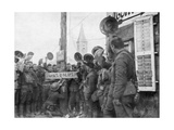 American Soldiers in the The Village of Nonsard, North East of Saint-Mihiel Giclee Print