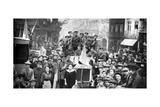 British Expeditionary Force in Rouen, France, First World War, 1914 Giclee Print