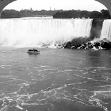 Niagara Falls and the Maid of the Mist, from the Canadian Cliffs, Canada Photographic Print
