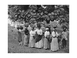 Banana Carriers, Jamaica, C1905 Giclee Print