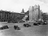 A Car Park, Brunswick Street, Liverpool, May 1946 Photographic Print