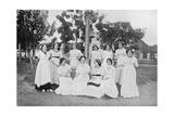 Group of Paraguayan Women, Carapegua, Paraguay, 1911 Giclee Print
