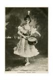 Adelina Genee, Danish-Born British Ballet Dancer, C1906 Giclee Print
