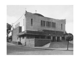 The Newly Built of Neolog Synagogue in Zilina (Slovaki), Designed by Peter Behrens in 1928 Giclee Print