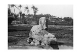 Alabaster Sphinx at Memphis, Egypt, C1920s-30s Giclee Print