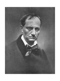 Charles Pierre Baudelaire (1821-186), French Symbolist Poet and Art Critic, 1864-1865 Giclee Print