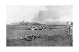 The Carcass of Zeppelin LZ93 (L4), St Clement, France, 20 October 1917 Giclee Print