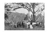 Paraguayan Tea Gathering, Paraguay, 1911 Giclee Print