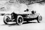 Alfieri Maserati and Guerino Bertocchi in a Type 26 Maserati, Targa Florio Race, Sicily, 1926 Photographic Print