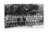 Group Portrait of C Company, 2nd Battalion the King's Regiment, Iraq, 1926 Giclee Print