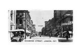 Richmond Street, London, Southwestern Ontario, Canada, C1920s Giclee Print