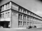 The Daimler-Benz Factory, Stuttgart, Germany, C1950 Photographic Print