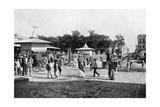 Market Place, Asuncion, Paraguay, 1911 Giclee Print