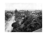 Duke Street and the Harbour, Kingston, Jamaica, C1905 Giclee Print by Adolphe & Son Duperly