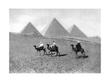 The Pyramids of Giza, Cairo, Egypt, C1920S Giclee Print