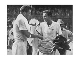 Fred Perry and FX Shields, 1934 Giclee Print by  Sport & General